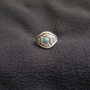 Bell Trading Post- Vintage Thunderbird Ring
